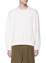 3.1 Phillip Lim Reconstructed Sweatshirt White