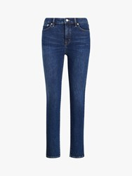 Ralph Lauren Regal Ankle Jeans Cadet Blue Wash