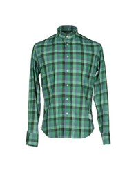 The Editor Shirts Shirts Men Green