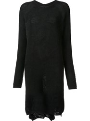 Lost And Found Ria Dunn Fine Knit Dress Black
