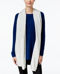 Charter Club Cashmere Scarf Only At Macy's Heather Crystal
