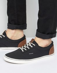 Jack And Jones Vision Canvas Sneakers Black