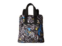 Le Sport Sac Everyday Backpack Chalkboard Snoopy Backpack Bags Brown
