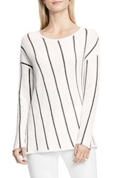Vince Camuto Women's Two By Angled Stripe Sweater