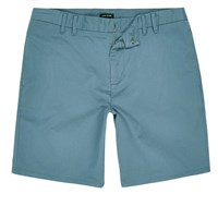 River Island Mens Light Blue Bermuda Shorts