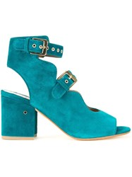 Laurence Dacade Buckled Sandals Green