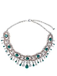 Shourouk Isis Green Necklace
