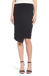 Vince Camuto Women's Faux Wrap Tube Skirt
