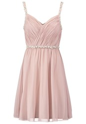 Laona Cocktail Dress Party Dress Cream Pink Rose