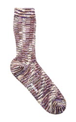Missoni Red Melange Socks