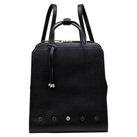 Radley Hatton Row Leather Small Backpack Black