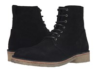 Rag And Bone Military Lace Boot Black Suede