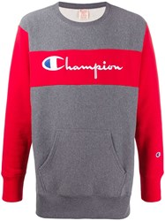 Champion Contrast Branded Sweatshirt 60
