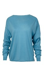 Tibi Featherweight Cashmere Easy Pullover
