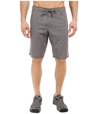Prana Sutra Short Gravel Men's Shorts Silver