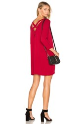 Bb Dakota Zepplin Dress Red