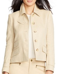 Lauren Ralph Lauren Herringbone Jacket Brown