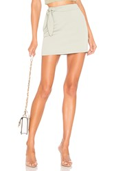 Superdown Laina Mini Skirt Sage