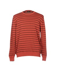 Henry Cotton's Sweaters Coral