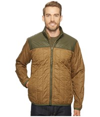 Filson Ultralight Quilted Jacket Field Olive Men's Coat Brown