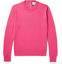 Gucci Wool Blend Sweater Pink