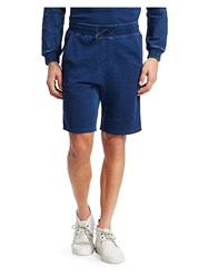 Madison Supply Fleece Drawstring Shorts Indigo