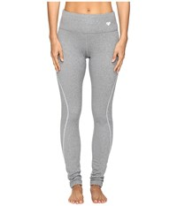 Obermeyer Sublime 150 Dri Core Tight Heather Grey Women's Casual Pants Gray