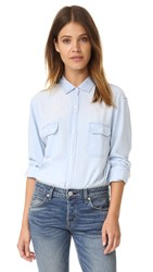 Rails Kendall Button Down Shirt Light Vintage Wash