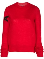 Alyx Perfectly Fitted Sweater Red