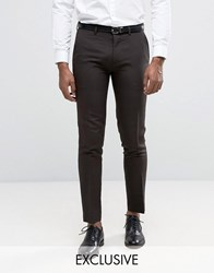 Only And Sons Skinny Trousers In Tonic Bronze Gold
