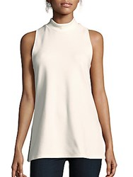 James Perse Solid Sleeveless Top Marshmallow