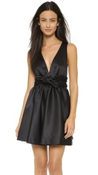 Rachel Zoe Beck Sleeveless Tie Waist Dress Black