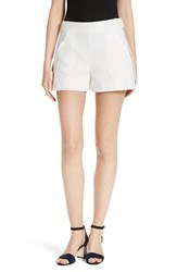 Veronica Beard Women's Blair Textured High Waist Shorts