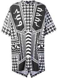 Ktz Oversized Printed T Shirt Black
