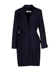 Christian Dior Dior Coats And Jackets Full Length Jackets Women Dark Blue