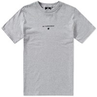 Undefeated No Surrender Tee Grey