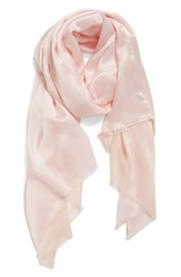 Echo Women's Hammered Silk And Rayon Wrap First Blush