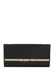 Jimmy Choo Lydia Glitter Fabric Clutch