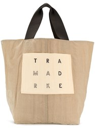 Trademark Large Reversible Tote Neutrals