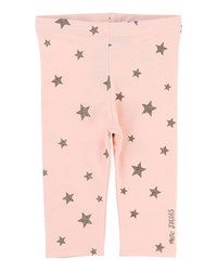Little Marc Jacobs Allover Star Print Stretch Leggings Size 12 18 Months Pink