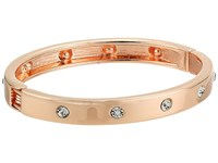 Guess Hingle Bangle W Crystal Accents Rose Gold Crystal Bracelet