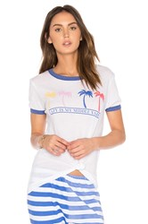 Wildfox Couture Feeling Lazy Tee White