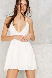 Nasty Gal T Back In Action Mini Dress