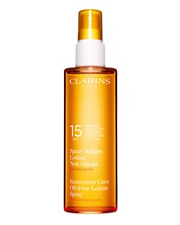 Clarins Sunscreen Spray Oil Free Lotion Progressive Tanning Spf 15