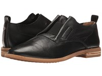 Hush Puppies Annerley Clever Black Leather Women's Slip On Dress Shoes