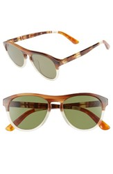 Toms Men's Declan 54Mm Sunglasses Milk Honey Fade