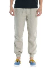Original Paperbacks Tapered Linen Pants Bone