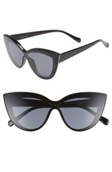 Bp. Cateye Sunglasses Black Black Black Black