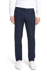 Brax Chuck Stretch Cotton Pants Navy