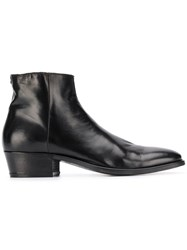 John Varvatos Classic Ankle Boots Black